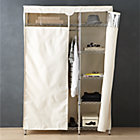 Work Closet with Dust Cover.