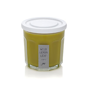 Working Glass Lemon Leaf Scented Candle
