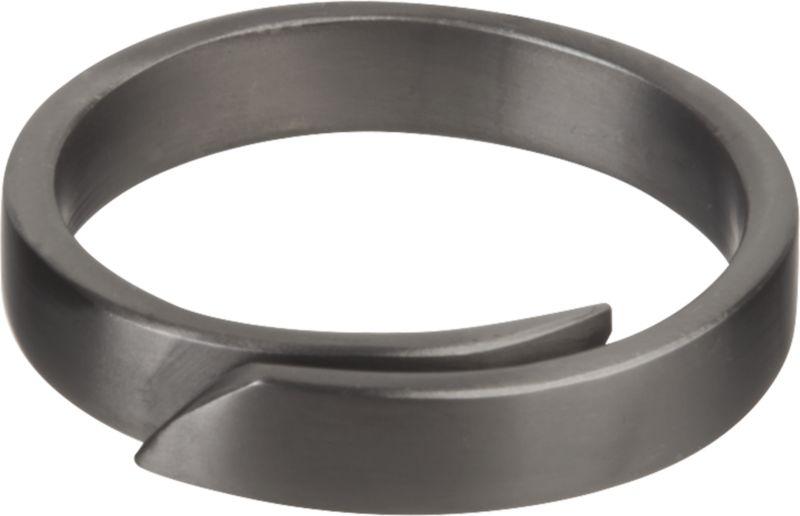 Wrap Black Napkin Ring
