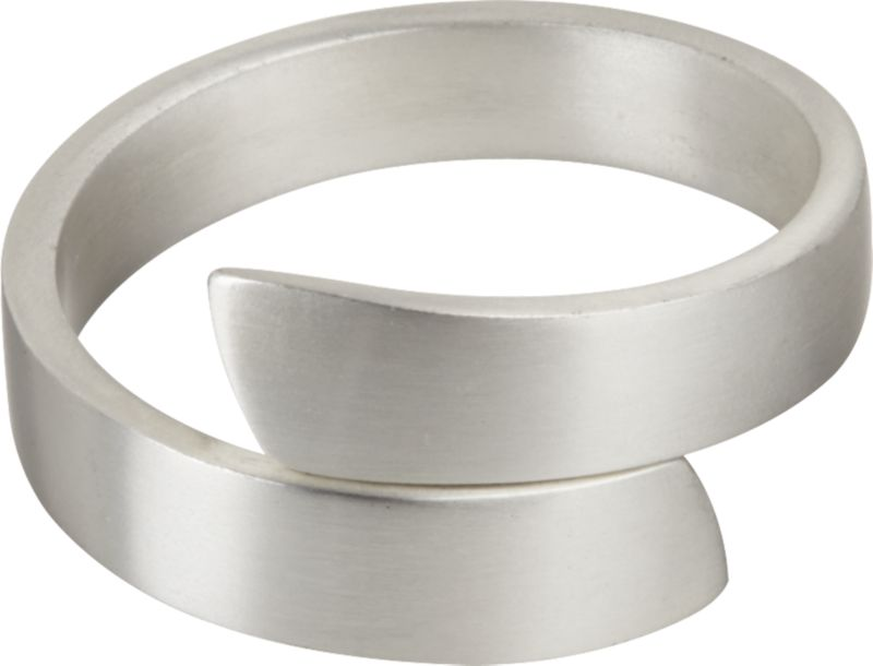Wrap Silver Napkin Ring
