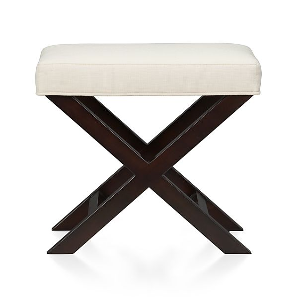 X-Base Bench-Vanity Stool | Crate and Barrel