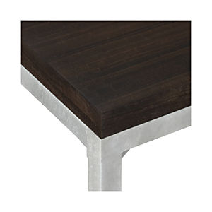 Myrtle Top/ Zinc X-Base Dining Tables