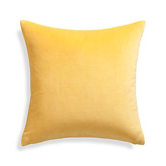 "Xander Yellow 20"" Pillow"