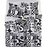 Marimekko Yhdess Black Bed Linens