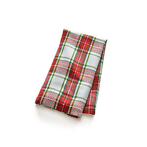 Yosemite Plaid Dish Towel