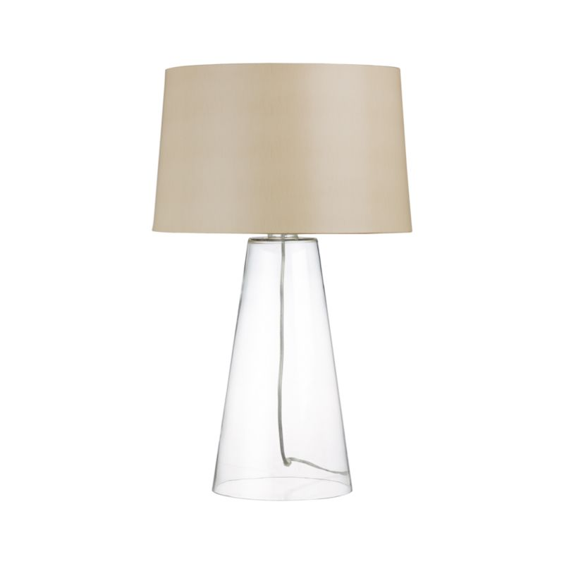 zak table lamp crate and barrel. Black Bedroom Furniture Sets. Home Design Ideas
