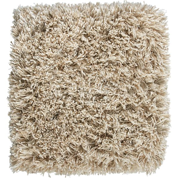 "Zia Natural 12"" sq. Rug Swatch"