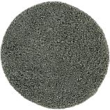 Zia Grey 6&#39; Round Shag Rug