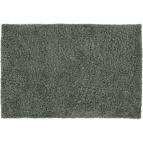 Zia Grey 8x10 Shag Rug
