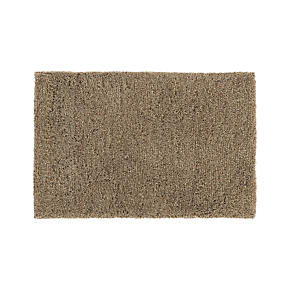 Zia Latte Shag Rug