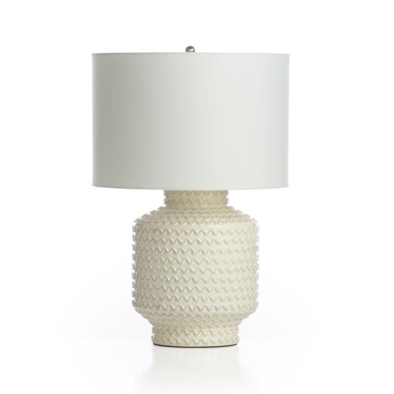 ziggy table lamp crate and barrel. Black Bedroom Furniture Sets. Home Design Ideas