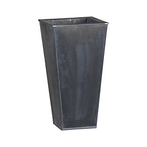 Zinc 19.5 Tall Square Planter