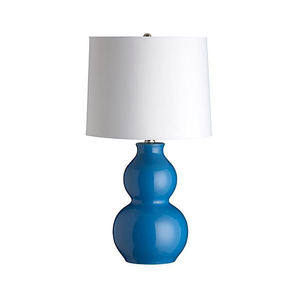 Zing Blue Table Lamp