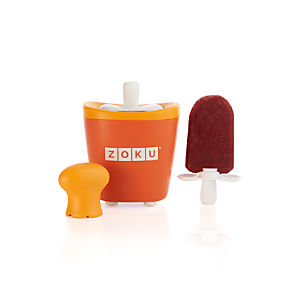 Zoku Orange Single Quick Pop Maker