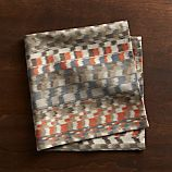 Zola Orange Printed Napkin