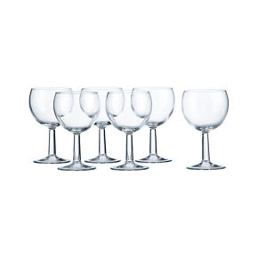 Set of 6 Zoom Wine Glasses