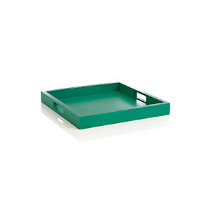 Zuma Dark Green Tray
