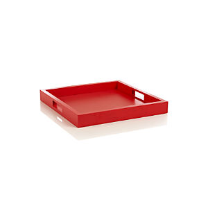 Zuma Fiery Red Tray