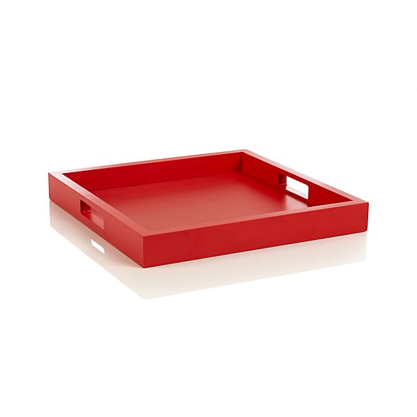 Zuma Fiery Red Tray