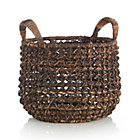 Medium Zuzu Basket with Handle.