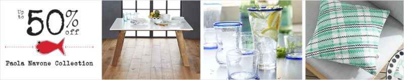 Up to 50% off Paola Navone Collection