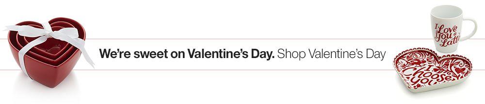 We're sweet on Valentine's Day. Shop Valentine's Day