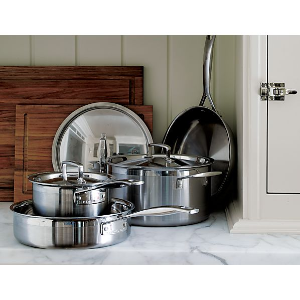 Le Creuset® Stainless Steel 7-Piece Cookware Set