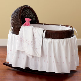Espresso Nod Bassinet and Bedding Sets