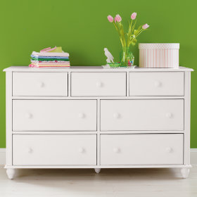 7-Drawer Jenny Lind Dresser