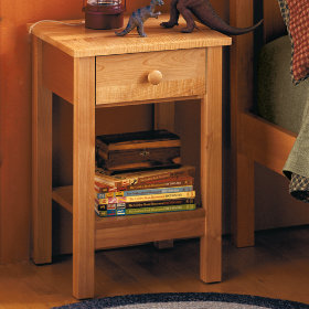Simple Nightstand (Natural)