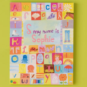 Hello my name is... Personalized Wall Art (Girl)