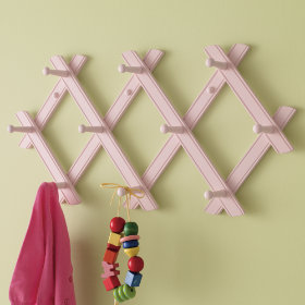 Accordion to Me Peg Rack (Pink)