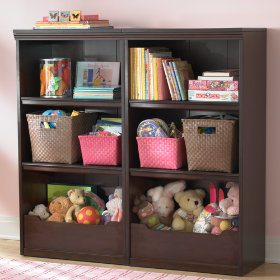 Flat Top Bookcase, 48 (Espresso)