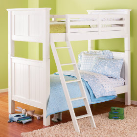 Walden Twin Bunk Bed (White)