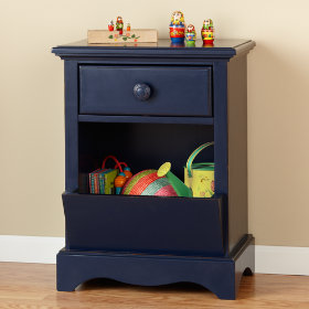 Walden Nightstand (Midnight Blue)
