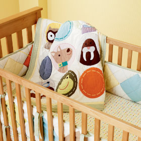 All Creatures Great and Small Crib Bumper