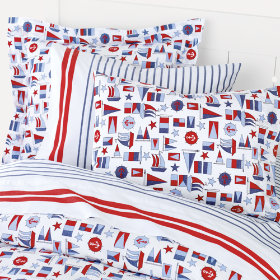 Totally Nautical, Dude Duvet Cover
