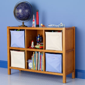 6-Cube Bookcase (Lt. Honey)