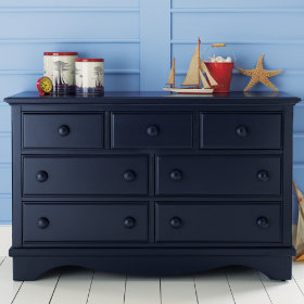 Walden 7-Drawer Dresser (Midnight Blue)