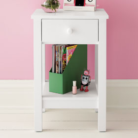 Simple Nightstand (White)