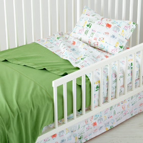 Field Guide Toddler Sheet Set