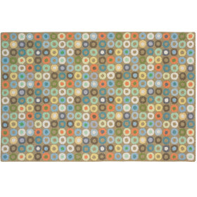 Round and Round Rug (Khaki)