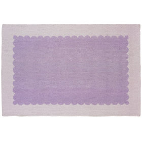 Pretty as a Picture Frame Rug (Lavender)