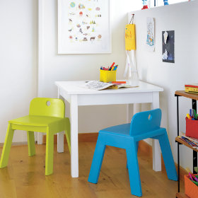 Here, There, Anywhere Play Table (White)