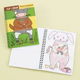 Flip and Draw Books (Farm)