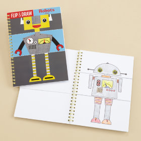 Flip and Draw Books (Robot)