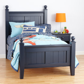 Walden Bed (Midnight Blue)