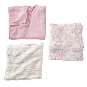 Its a Wrap Bamboo Swaddling Blankets (Pink)