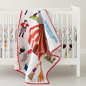 Under the Big Top Crib Bedding
