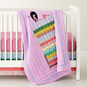 Princess and the Pea Crib Bedding
